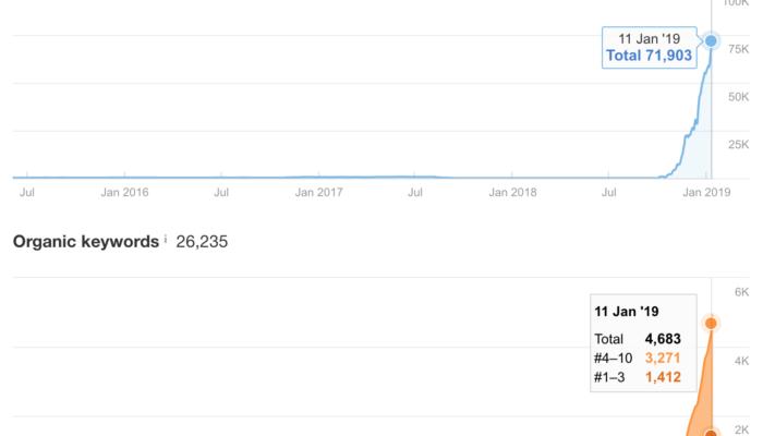 История одного дроп-домена или как завоевать медицинский топ Гугла за 4 месяца от старта